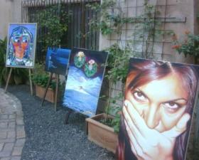 """Biennale d'Arte di Taormina"" vincitore del 1° Premio Toninato Ivan"