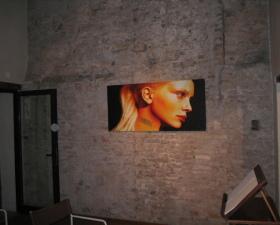 """""""Ritratti di luce"""" Solo exibition, """"Palazzo ex-carceri"""" Motta di Livenza (Tv)"""