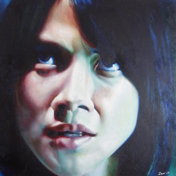 """Frame #11"" acrilic, mixed media on canvas cm.100x100 2014"