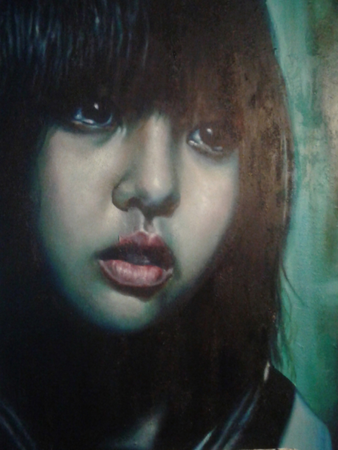 """Frame #12"" acrilic, mixed media on canvas cm.70x100 2014"