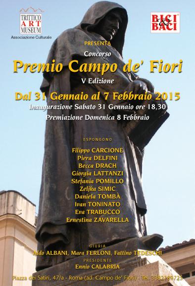 Premio campo de' fiori, Roma