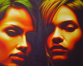 Ambiguità notturna - acrilico su tela - 2007
